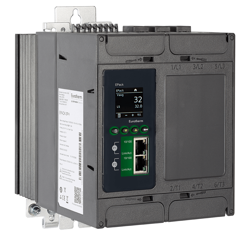 Eurotherm Epack Scr Power Controller Neal Systems Incorporated Control Circuit Compact