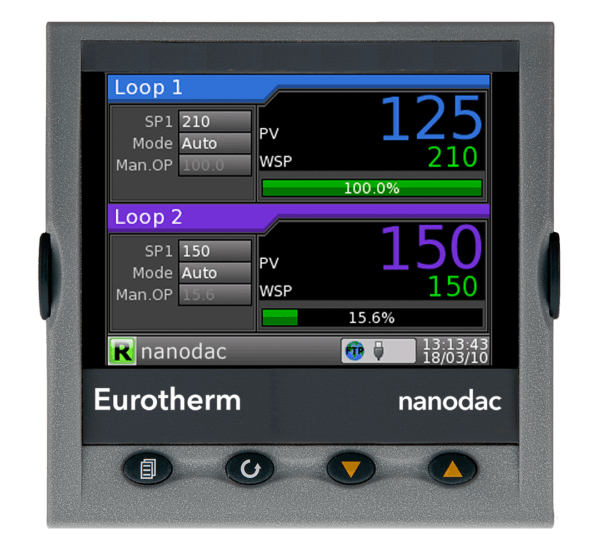 Eurotherm nanodac from Neal Systems Inc