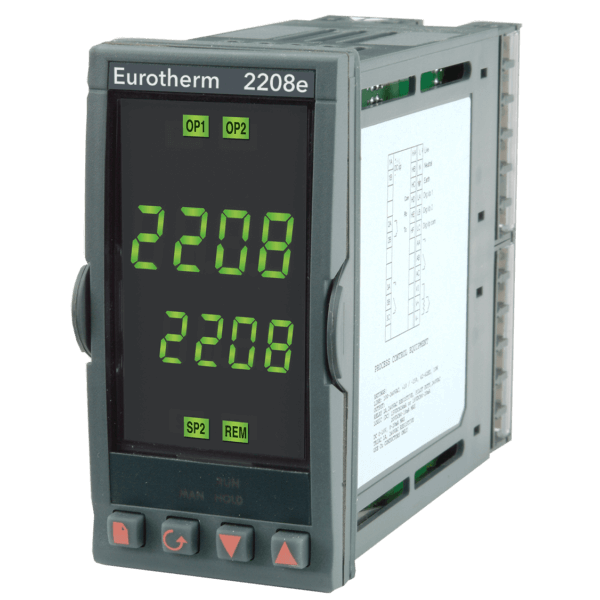 2208e Temperature Process Controller