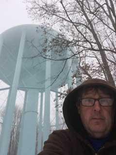 Cass Janoski municipal water-tower