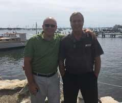 Steve Slavutsky and Ken Taylor